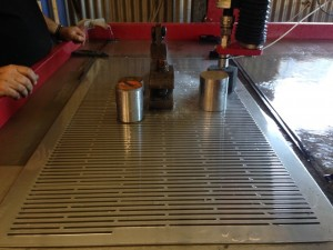 Cutting 4mm S/S Screens