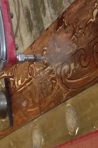 CNC Water cut 20mm Matai wood